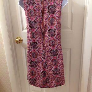 Umgee Dresses - Umgee Red Geometric Design Dress